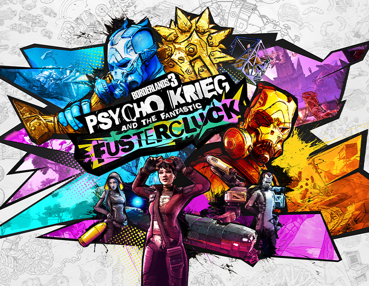 Borderlands 3: Psycho Krieg and the Fantastic Fustercluck (Epic Games)