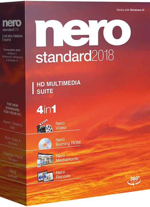Nero 2018 Standard ESD