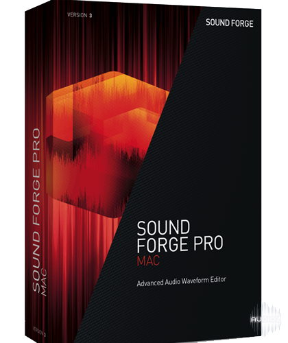Sound Forge Pro MAC 3 - ESD