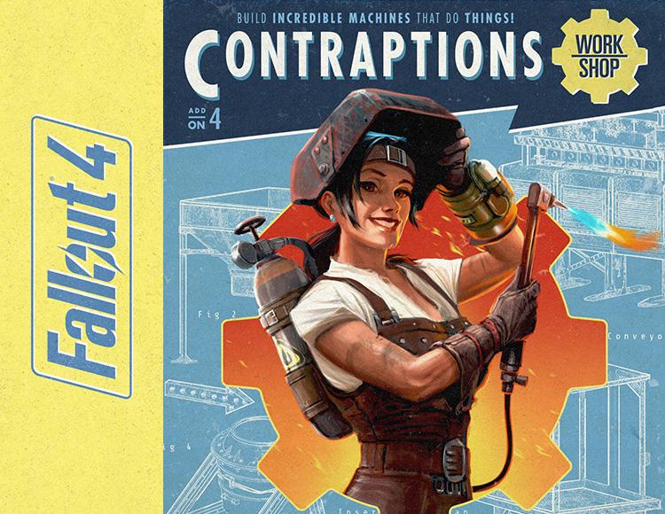 Fallout 4 - Contraptions Workshop DLC