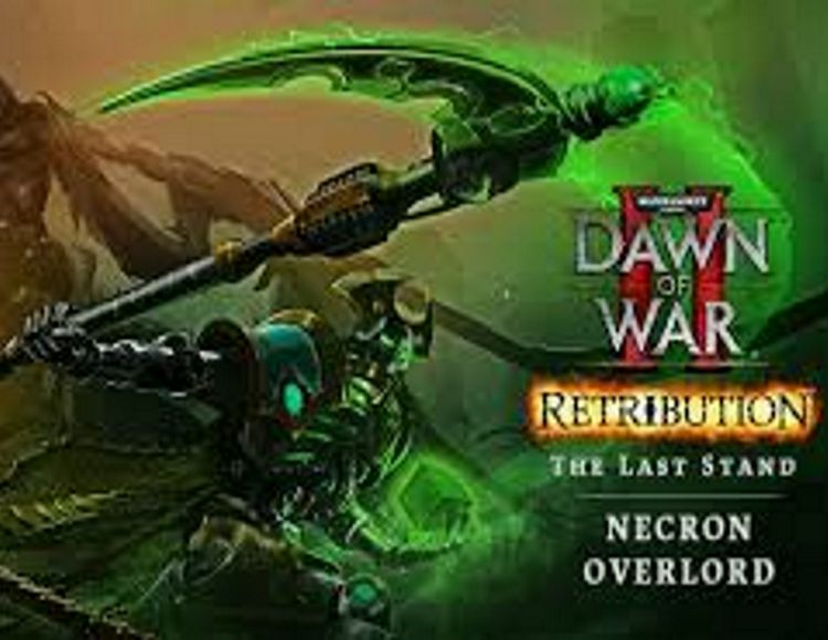 Warhammer 40,000 : Dawn of War II - Retribution - The Last Stand Necron Overlord