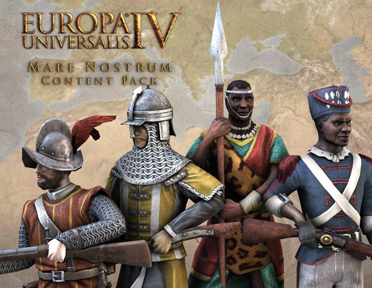 Europa Universalis IV: Mare Nostrum - Content Pack