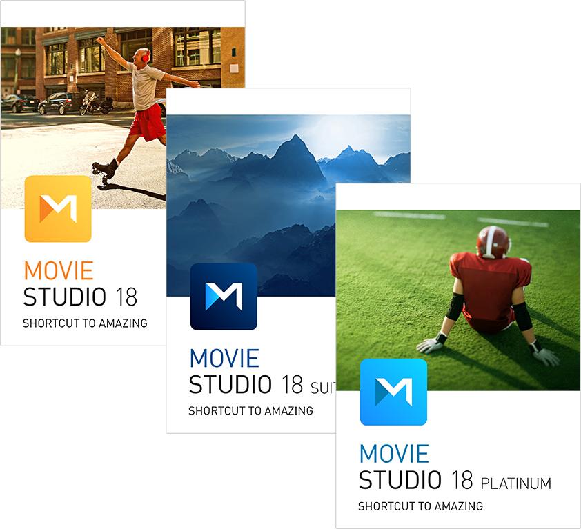 VEGAS Movie Studio 18