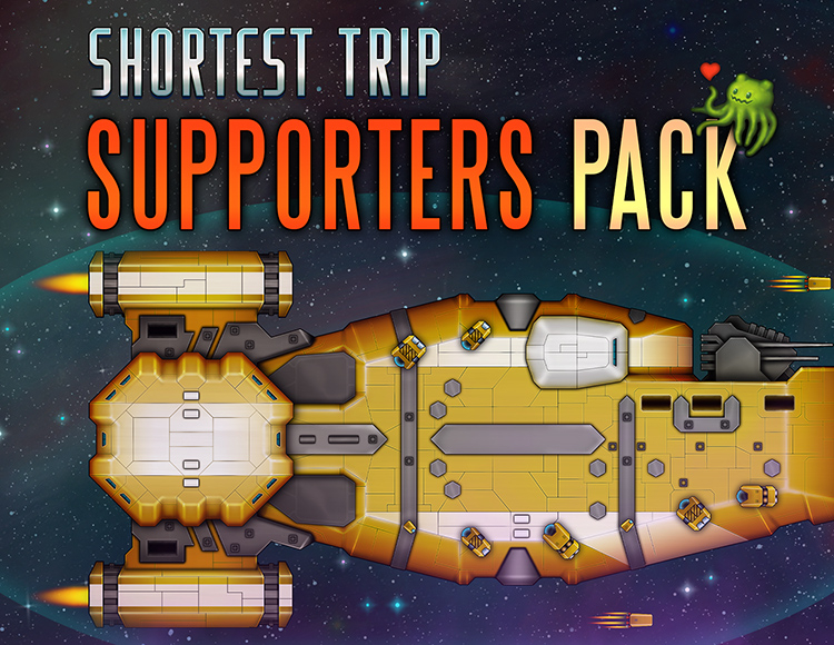 Shortest Trip to Earth: The Supporters Pack