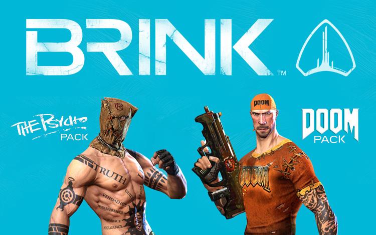 BRINK® : Doom® - Psycho Combo Pack