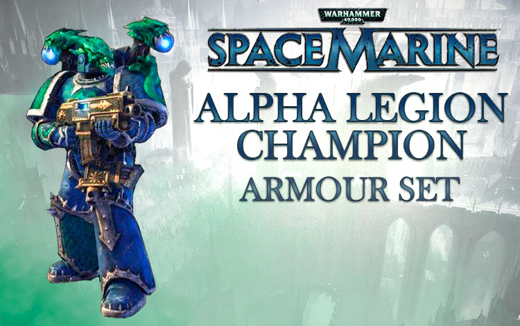 Warhammer 40,000 : Space Marine - Alpha Legion Champion Armour Set DLC