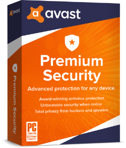 Avast Premium Security (Multi-Device), 3 Years