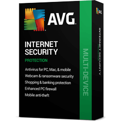 AVG Internet Security - 3 PCs, 1 Year