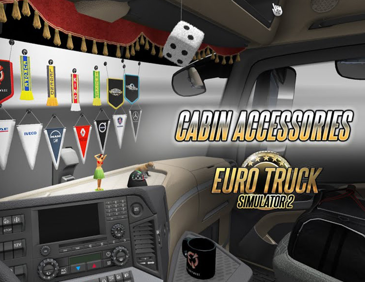 Euro Truck Simulator 2 – Cabin Accessories