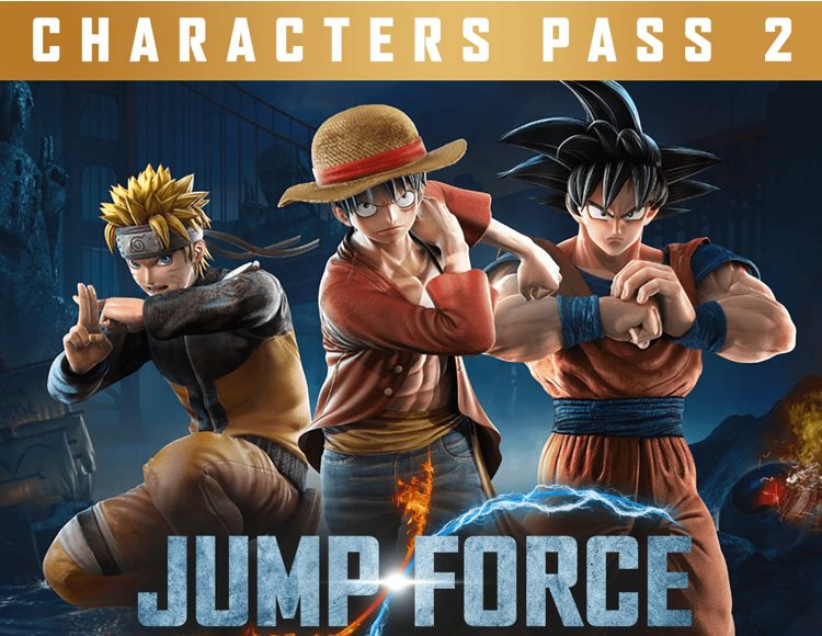 JUMP FORCE Characters Pass 2