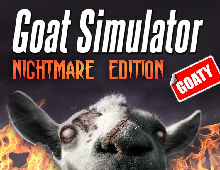 Goat Simulator. Goaty Nightmare Edition