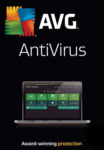 AVG AntiVirus, 1 ПК 2 года