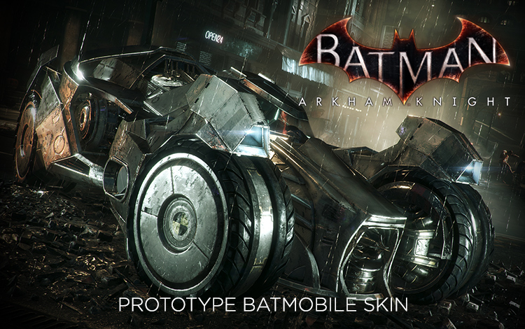 Batman: Arkham Knight - Prototype Batmobile Skin