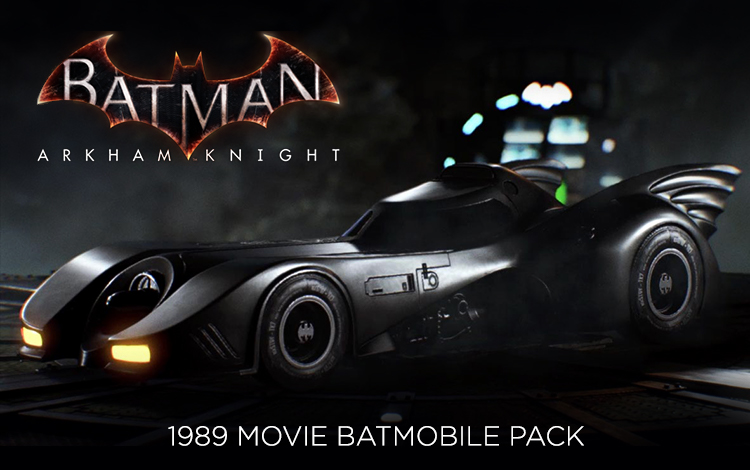 Batman: Arkham Knight - 1989 Movie Batmobile Pack