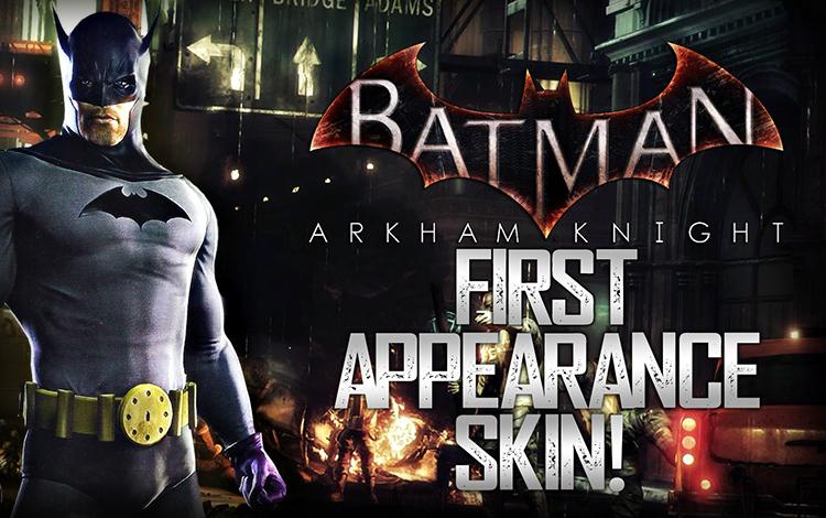 Batman: Arkham Knight - 1st Appearance Batman Skin