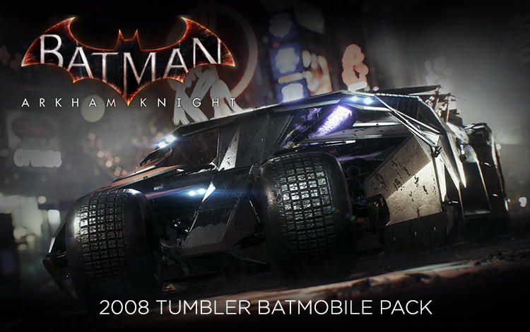 Batman: Arkham Knight - 2008 Tumbler Batmobile Pack