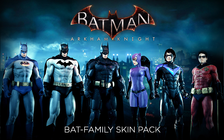 Batman: Arkham Knight - Bat-Family Skin Pack