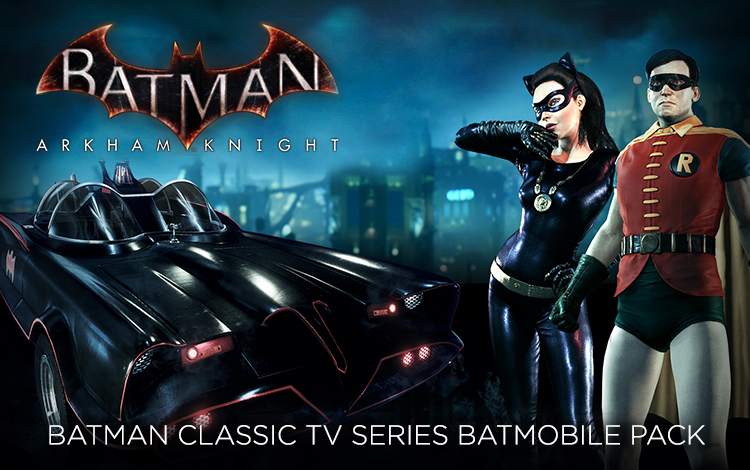 Batman: Arkham Knight - Batman Classic TV Series Batmobile Pack