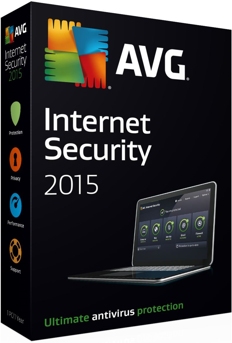AVG Internet Security, 1 ПК 1 год