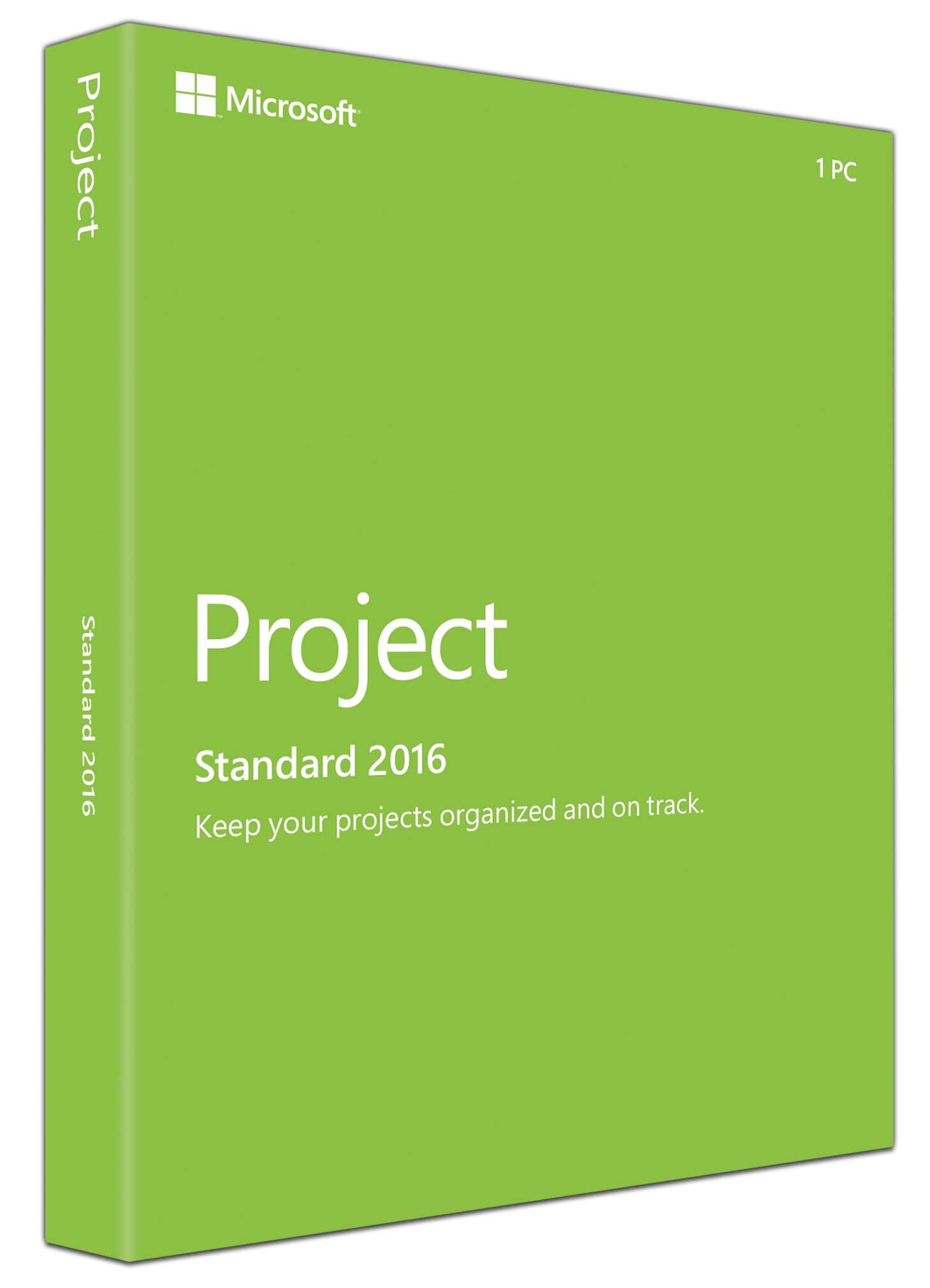 Project стандартный 2016