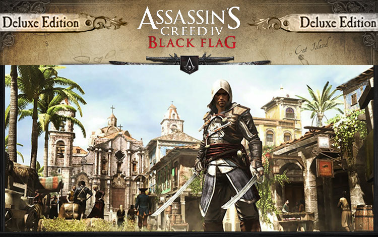 Assassins Creed IV Black Flag. Deluxe Edition