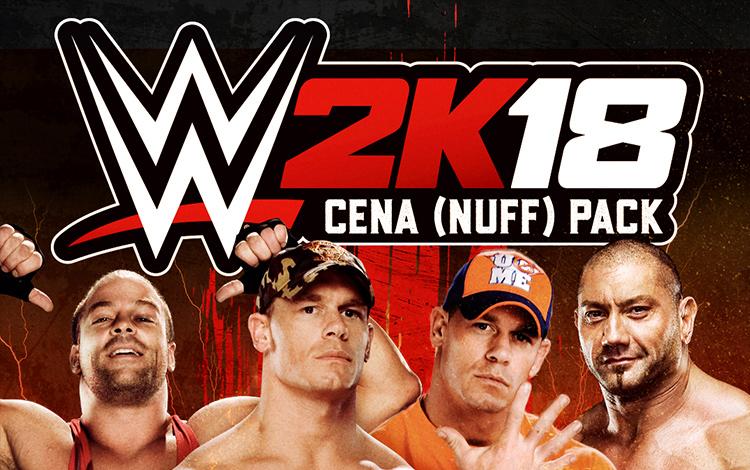 WWE 2K18 - Cena (Nuff) Pack