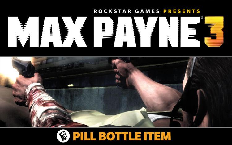 Max Payne 3 - Pill Bottom Item DLC