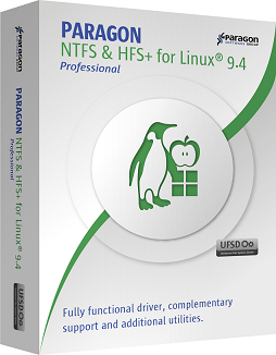 Paragon NTFS & HFS+ for Linux Professional