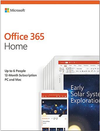 Office 365 для дома (Электронная лицензия на 1 год)