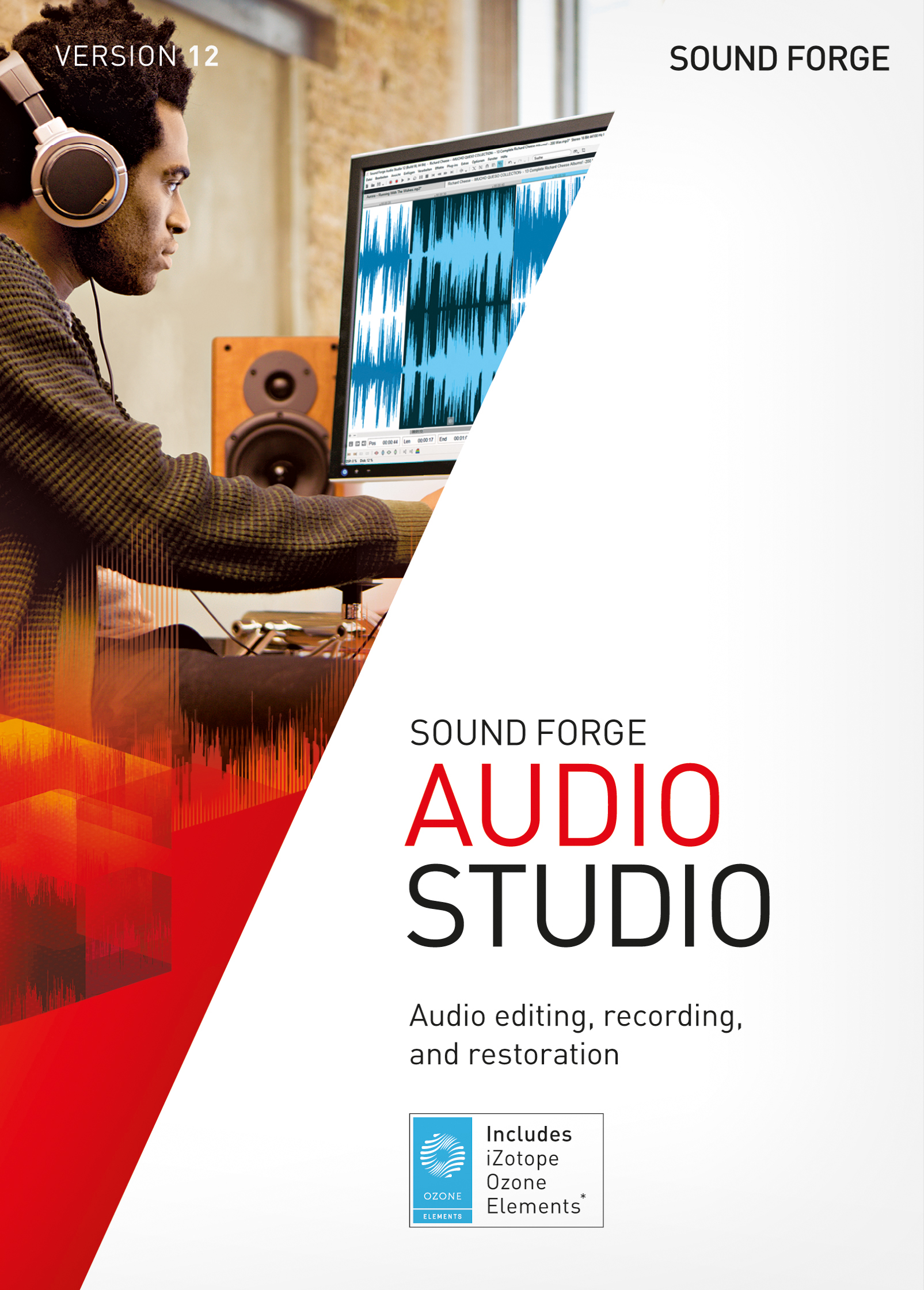 SOUND FORGE Audio Studio 12 - ESD