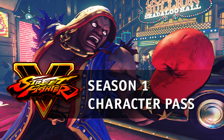 Street Fighter V Season 1 Character Pass