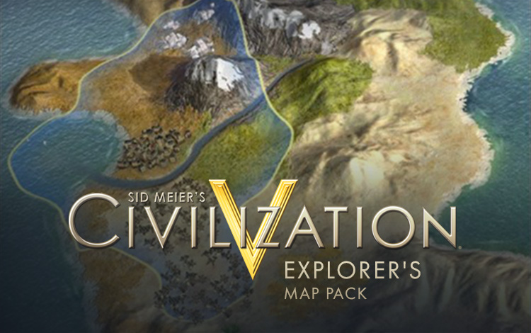 Sid Meier's Civilization V Explorer's Map Pack
