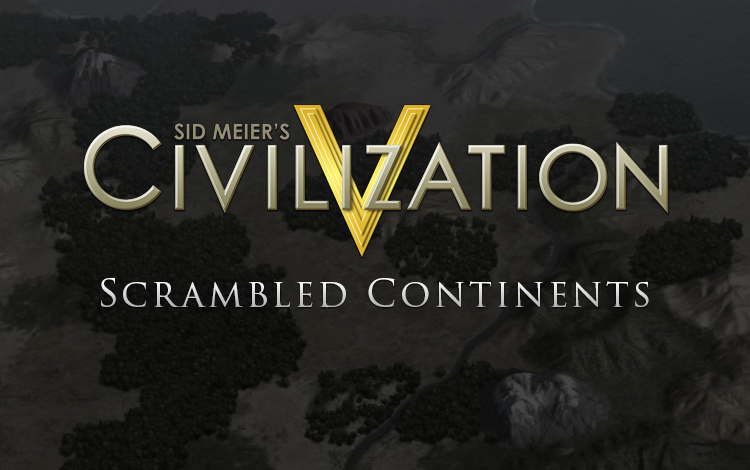 Sid Meiers Civilization V Map Pack: Scrambled Continents