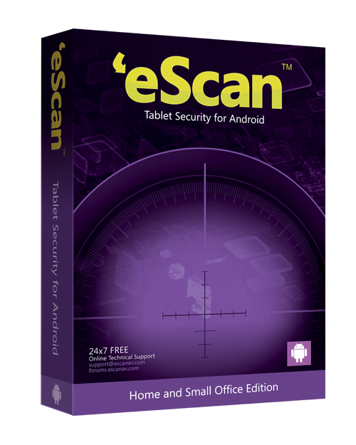 eScan Tablet Security  for Android 1 ПК 1 год