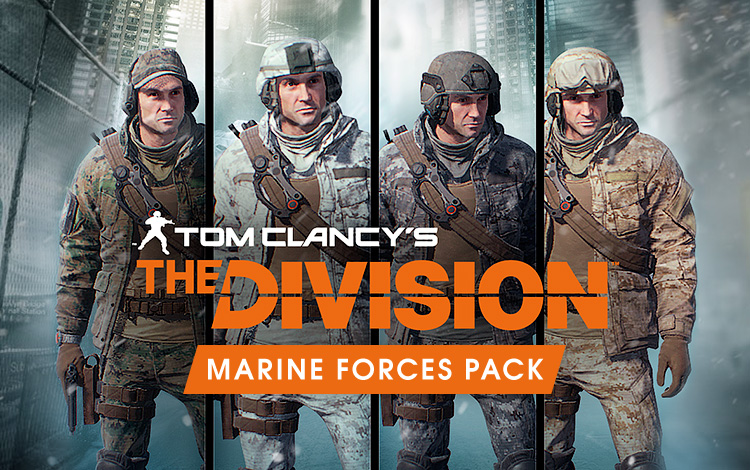Tom Clancys The Division - Marine Forces Pack DLC
