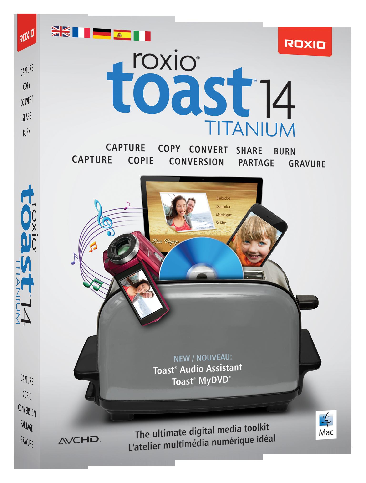 Roxio Toast 14 Titanium ML