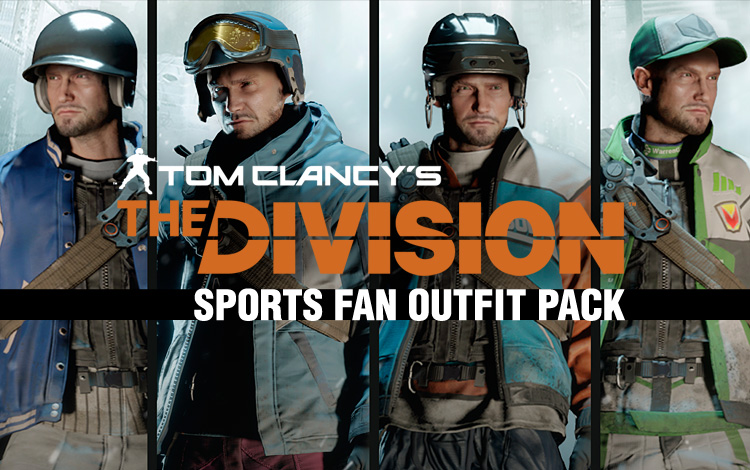 Tom Clancys The Division - Sports Fan Outfits pack DLC