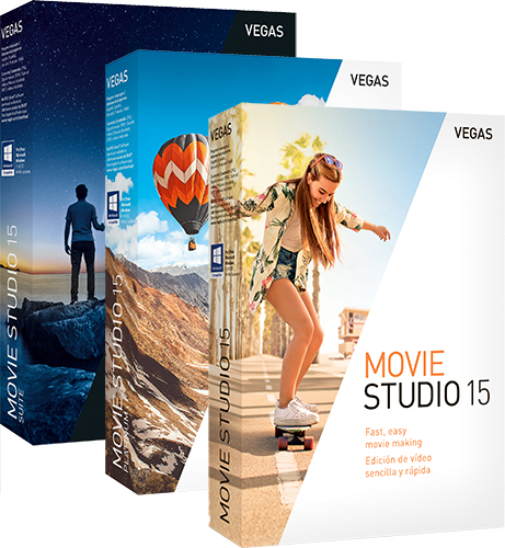 VEGAS Movie Studio 15 Suite - ESD