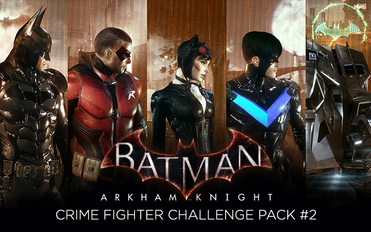 Batman: Arkham Knight - Crime Fighter Challenge Pack #2