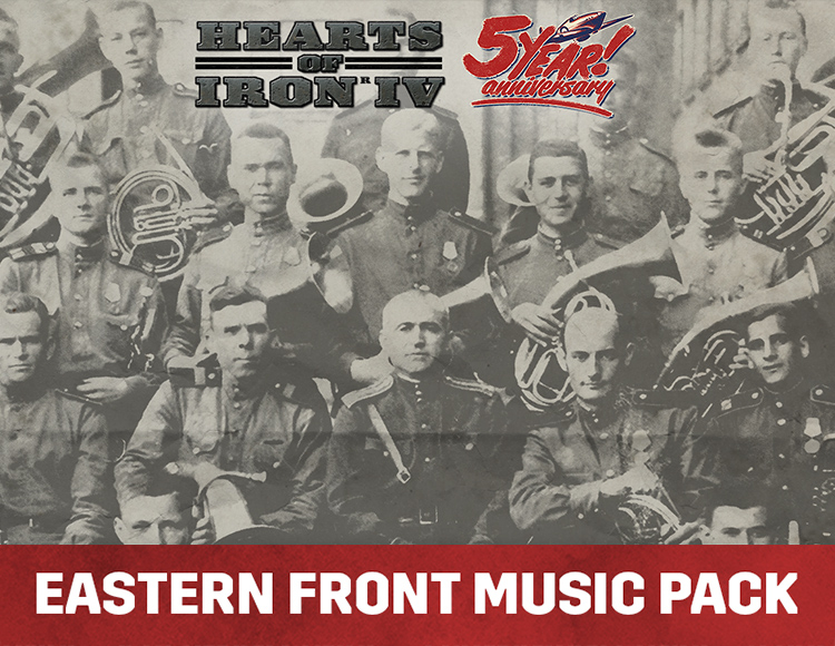 Hearts of Iron IV - Eastern Front Music Pack