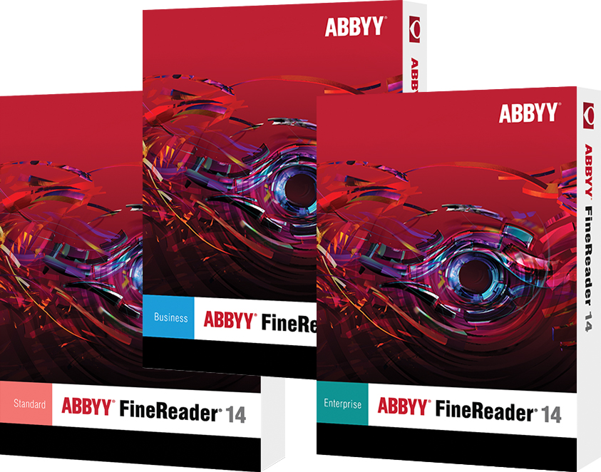 ABBYY FineReader 14 Enterprise 1 year