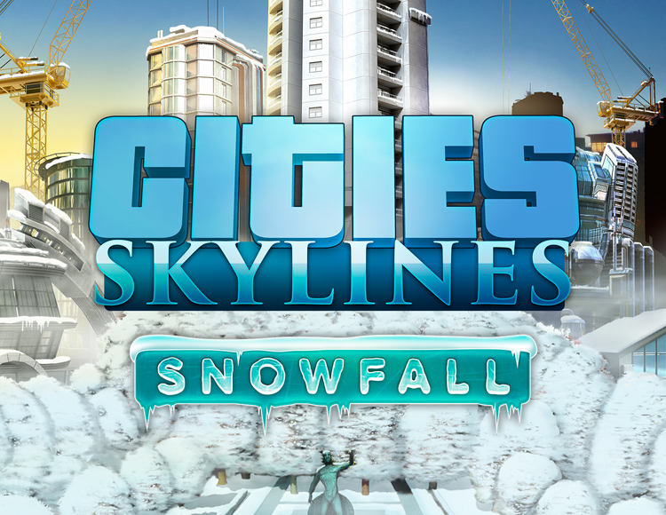 Cities Skylines - Snowfall