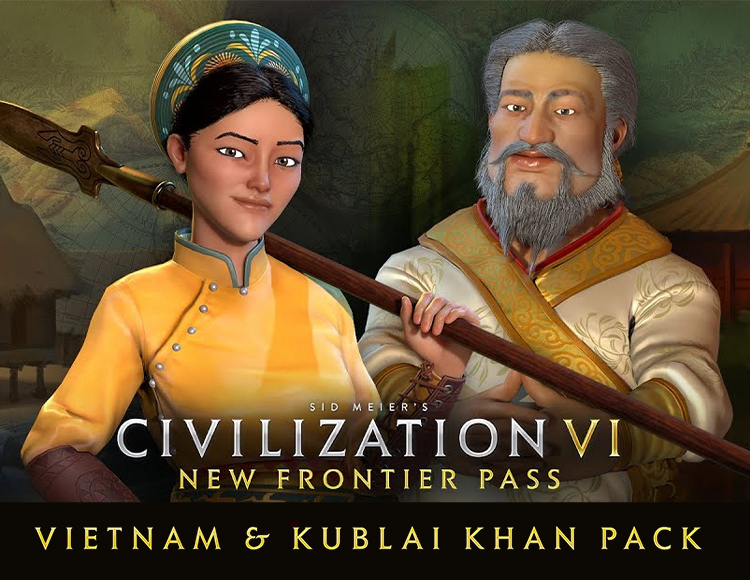 Sid Meiers Civilization VI – Vietnam & Kublai Khan Pack (Steam)