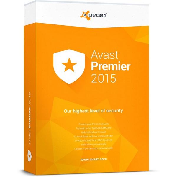 avast! Premier, 1 пользователь, 1 год