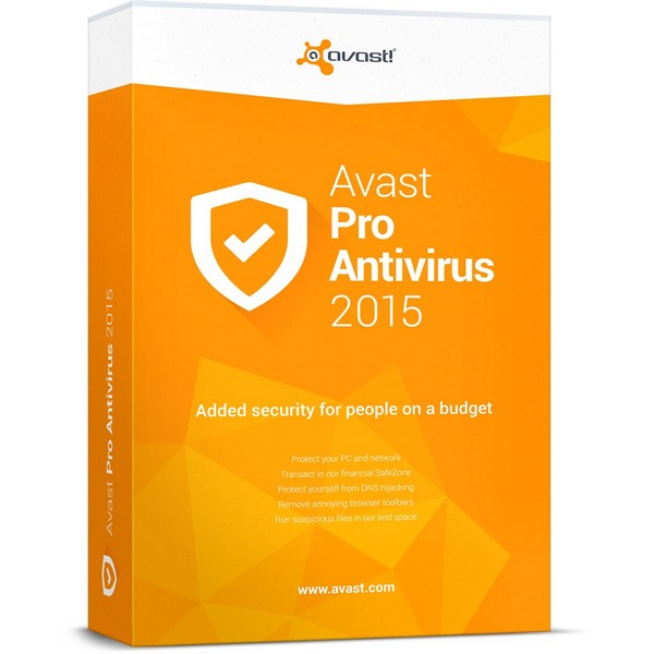 avast! Pro Antivirus V8 - 1 user, 1 year