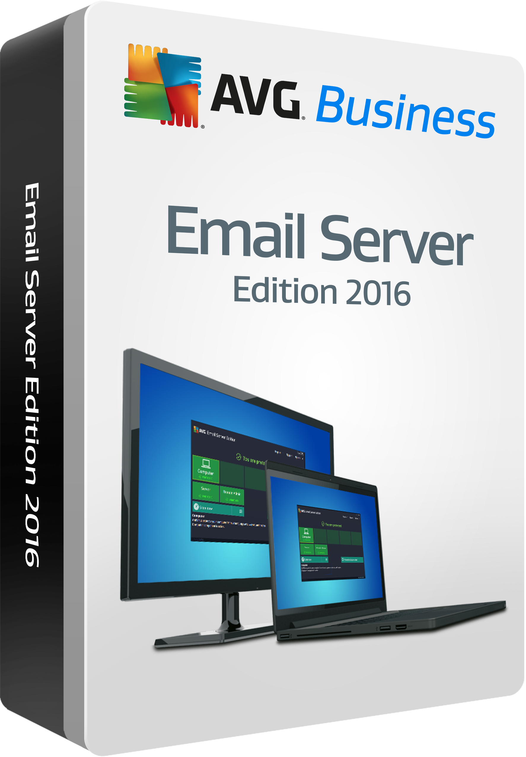 AVG Email Server Edition, 1 year 5 mailboxes