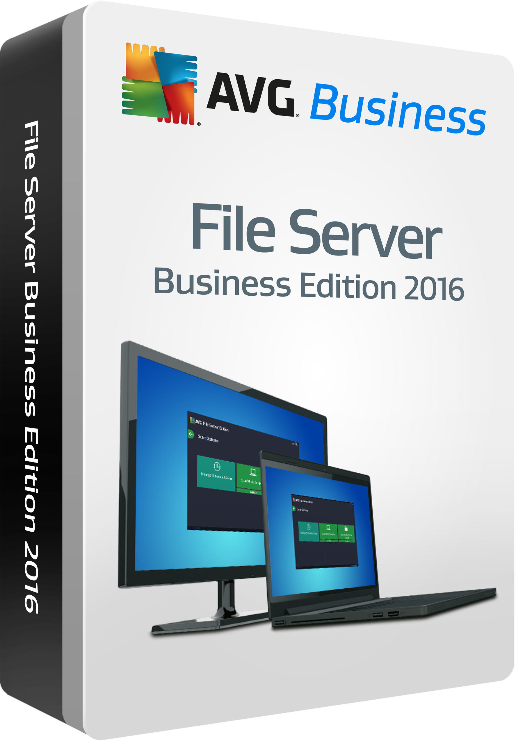 AVG File Server Edition, 1 year 2 computers