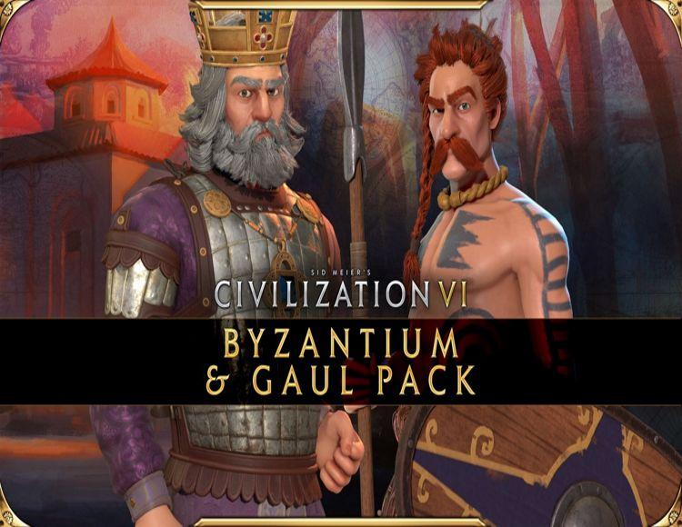 Sid Meier's Civilization VI - Byzantium & Gaul Pack (Steam)