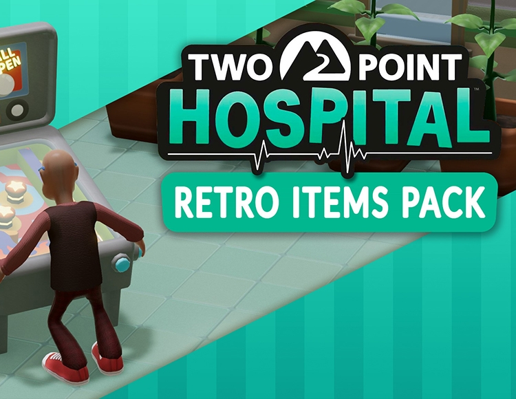Two Point Hospital  - Retro Items pack DLC