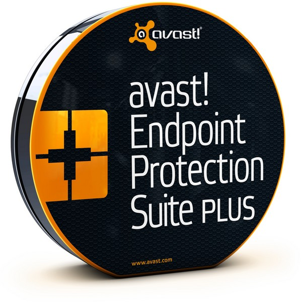 avast! Endpoint Protection Suite Plus, 3 года  (от 20 до 49 пользователей) для мед/госучреждений
